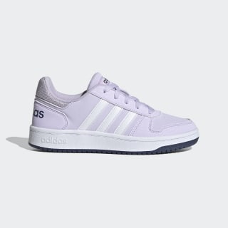 Hoops 2.0 Schoenen Purple Tint / Cloud White / Tech Indigo EG9075