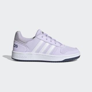 Hoops 2.0 Schuh Purple Tint / Cloud White / Tech Indigo EG9075