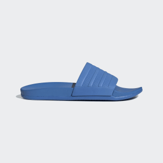 adilette Cloudfoam Plus Mono Slides True Blue / True Blue / True Blue F34630