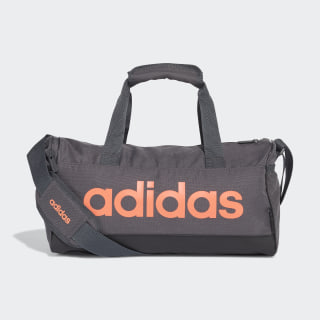 Linear Duffel Bag Grey Six / Black / Signal Coral FM6749