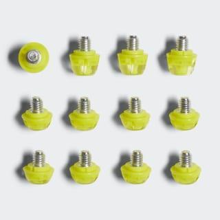 Tacchetti in TPU Yellow / Silver Metallic AP0245
