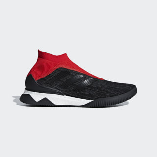 Sapatos Predator Tango 18+ Core Black / Core Black / Red AQ0603