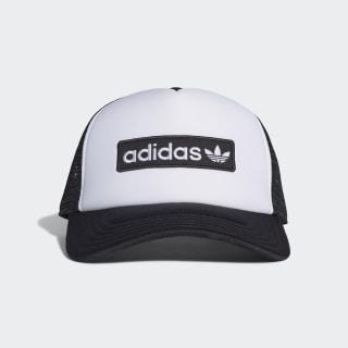 Foam Curved Trucker Hat Black / White ED8056