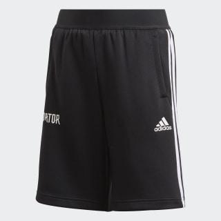 Short Predator 3-Stripes Black / White FL2757