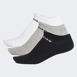 NC Low-Cut Socks 3 Pairs Black / Medium Grey Heather / White FJ7717