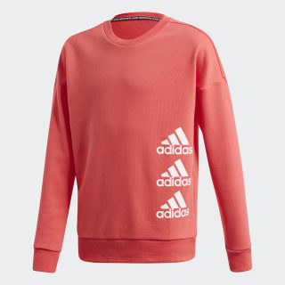 Must Haves Sweatshirt Core Pink / White FL1799