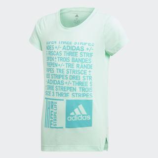 Camiseta Yg Tr Graph Tee CLEAR MINT/HI-RES AQUA DJ1093