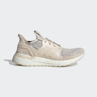 Ultraboost 19 Schoenen Crystal White / Brown / Linen G27492