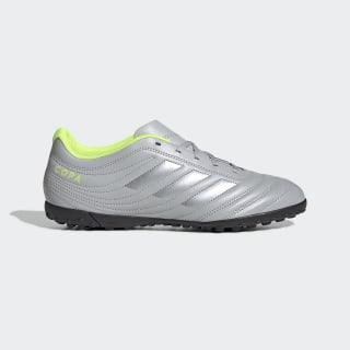 Chuteira Copa 20.4 Society Grey Two / Matte Silver / Solar Yellow EF8356
