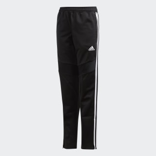 Tiro 19 Polyester Pants Black / White D95925
