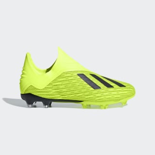 Zapatos de Fútbol X 18+ Terreno Firme SOLAR YELLOW/CORE BLACK/FTWR WHITE DB2284