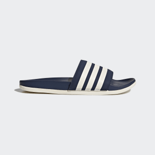 Adilette Cloudfoam Plus Stripes Slides Collegiate Navy / Chalk White / Collegiate Navy AP9970