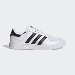 Team Court Schoenen Cloud White / Core Black / Cloud White EG9734