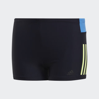 Sunga Boxer Meninos Fitness Colorblock Legend Ink / Hi-Res Yellow DP7554