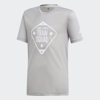 T-shirt Train Squad Medium Grey Heather DV1408