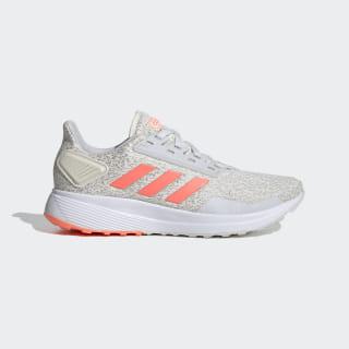 Zapatillas para correr Duramo 9 Chalk White / Signal Coral / Dash Grey EG8671