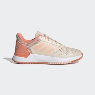 Tênis Courtsmash Linen / Glow Pink / Semi Coral EE8453