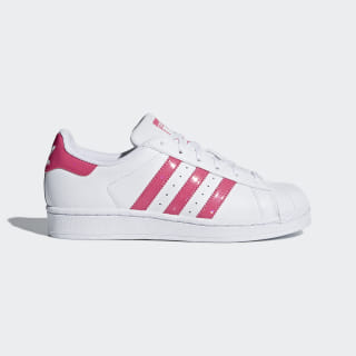 Кроссовки Superstar ftwr white / real pink s18 / ftwr white DB1210