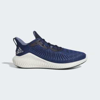 Кроссовки для бега Alphabounce+ collegiate navy / silver met. / tech ink EF1224