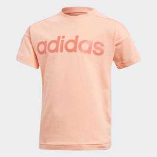 Camiseta Lin CHALK CORAL S18/BRIGHT RED CF6618
