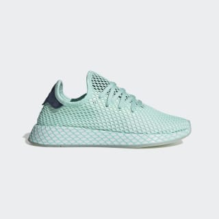 Zapatillas Deerupt Runner Clear Mint / Cloud White / Collegiate Navy DB3599