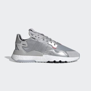 Zapatillas Nite Jogger Silver Metallic / Light Solid Grey / Core Black EE5851