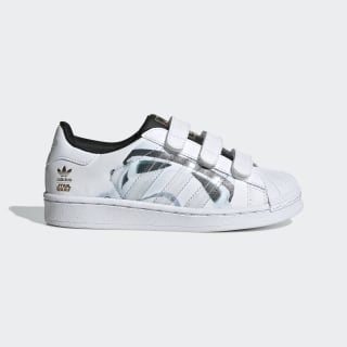 Zapatilla Superstar Stormtrooper Cloud White / Cloud White / Core Black B35623