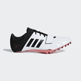 Adizero Accelerator Spikes Cloud White / Core Black / Shock Red B37481