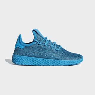 Zapatilla Pharrell Williams Tennis Hu Bold Aqua / Bold Aqua / Chalk White B41928