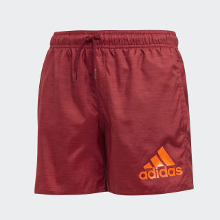 Short de bain Badge of Sport Collegiate Burgundy DY6423