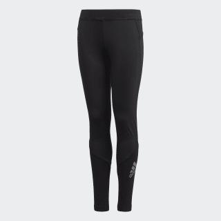 Alphaskin Lange Legging Black / Reflective Silver FL1341
