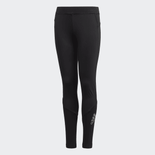 Tight lunghi Alphaskin Black / Reflective Silver FL1341