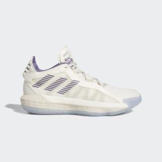 Tenis de básquet Dame 6 Chalk White / Tech Purple / Clear Brown FU9448