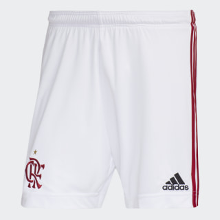 SHORTS CR FLAMENGO 1 White / Power Red ED9170