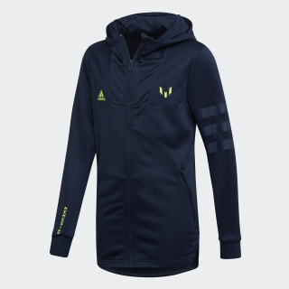 Messi Hoodie Collegiate Navy / Solar Yellow DV1324