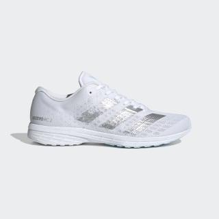 Adizero RC 2.0 Schuh Cloud White / Silver Metallic / Sky Tint EG1177