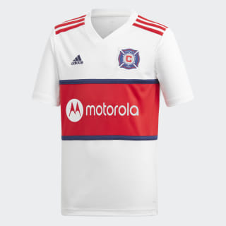 Chicago Fire Away Jersey White DP9034