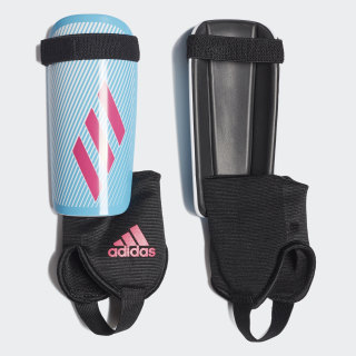 X Youth Shin Guards Bright Cyan / Shock Pink / Black DY2583