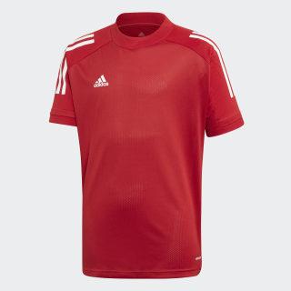 T-shirt da allenamento Condivo 20 Team Power Red / White ED9213