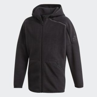 Veste de survêtement adidas Z.N.E. Black / Black ED6443