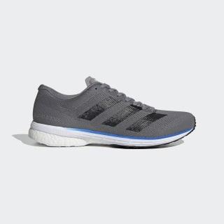 Adizero Adios 5 Shoes Grey Three / Core Black / Glory Blue EH3128