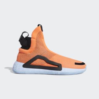 Баскетбольные кроссовки N3XT L3V3L hi-res coral / glow blue / core black F97259