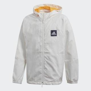 Ветровка adidas W.N.D. Primeblue White / Real Gold FL2827