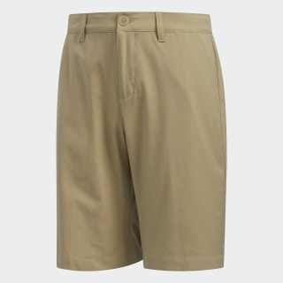 Solid Golf Shorts Red Gold FN4082