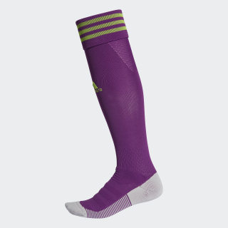 Meião AdiSocks Knee Glory Purple / Semi Solar Green FK7256