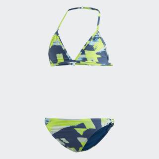 Allover Print Bikini Multicolor / Shock Cyan DQ3382