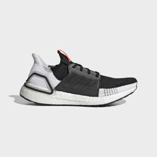 Ultraboost 19 Shoes Tech Olive / Core Black / Solar Red G27132