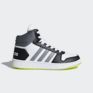 Tenis Hoops 2.0 Mid FTWR WHITE/GREY THREE F17/CORE BLACK DB1948