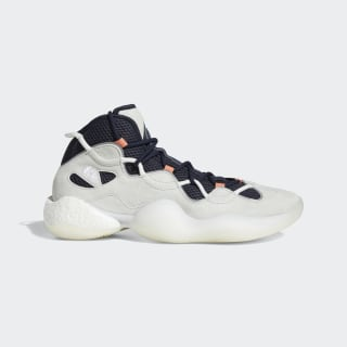 Crazy BYW III Shoes Crystal White / Legend Ink / Semi Coral EE7961