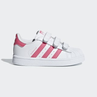 Superstar Schuh Ftwr White / Real Pink / Real Pink CG6638